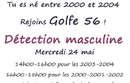 Détection masculine Golfe 56
